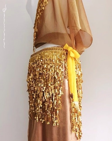 Sequined Glamorous HW Gold