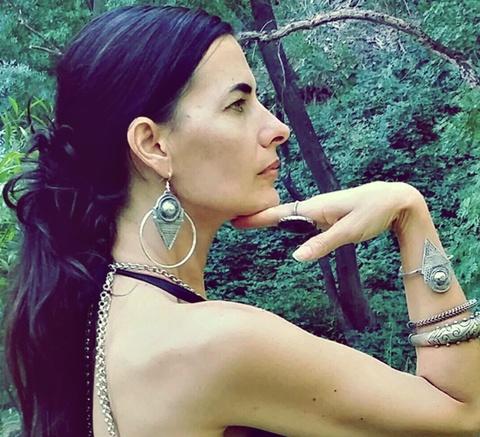am.talhakimt earrings/silver