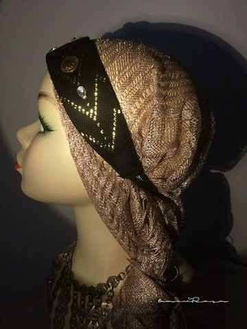 real assuit headband gold