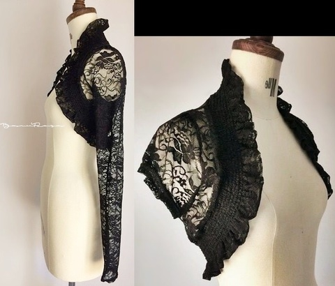 AnR Lace Bolero [Black]