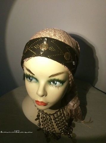 real assuit headband gold