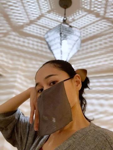 Nourah Face Veil Gray
