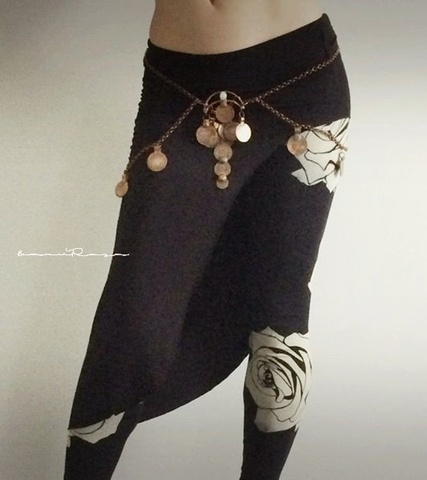 予約受付中 D.ROSE BLK Leggings