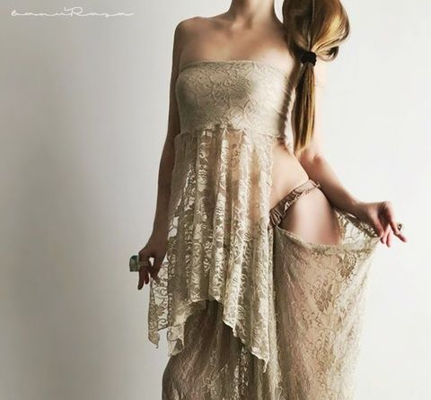 AnR Lace Top/SK [Sand]