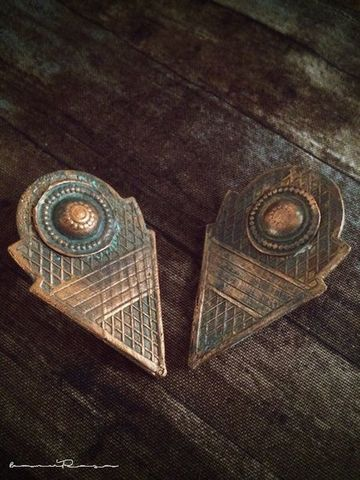 10%OFF am.talhakimt studs/copper