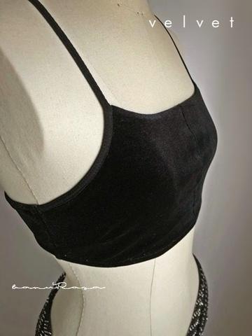 AnR Basic Bralette Velvet