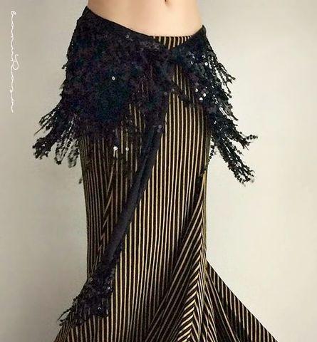 Sequined Glamorous HW Bk
