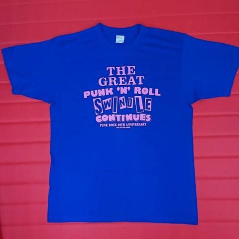 【1点限り】CLUB THE STAR / THE GREAT PUNK'N'ROLL SWINDLE CONTINUES Tシャツ Lサイズ