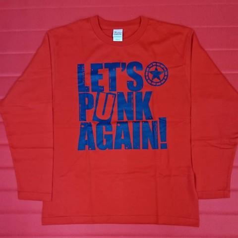 【1点限り】CLUB THE STAR / LET'S PUNK AGAIN! 長袖Tシャツ Mサイズ