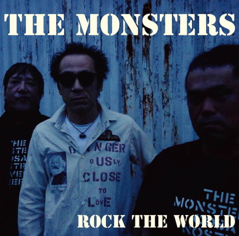 THE MONSTERS / ROCK THE WORLD ※RAILROAD BLUES(別ヴァージョン)CD-R+ステッカー付