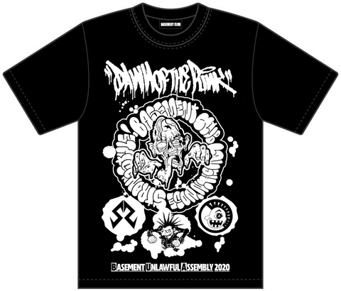 BASEMENT UNLAWFUL ASSEMBLY 2020 -STRONG STYLE NEW ALBUM 「ALTERNATIVE FACT」 RELEASE GIG- イベントTシャツ