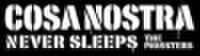 THE MONSTERS / COSA NOSTRA NEVER SLEEPS Tシャツ 黒