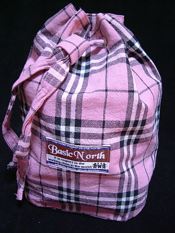 Pink Check BAG 4SET
