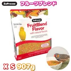 ZuPreem フルーツブレンド XS 907g