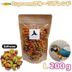 ZuPreem フルーツブレンド Large Birds 200g