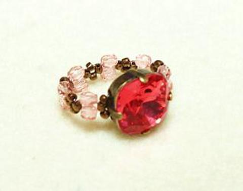 バレンタインリング(ピンク)