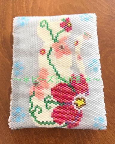 花猫のポケットティッシュカバー