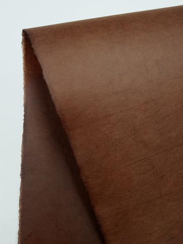 手漉柿渋染紙