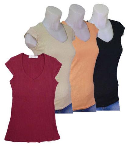 フレンチ袖 カットソー w272188【S】5号 小さい 服 小さいサイズ
