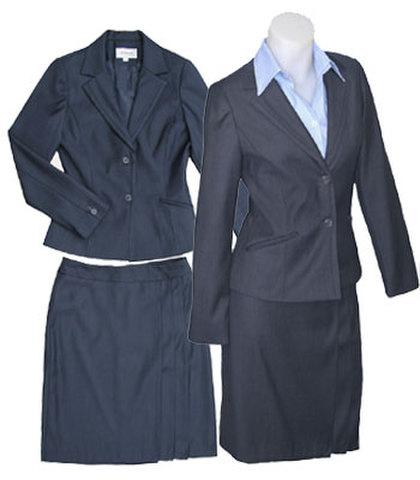 二つ釦スーツw271645【XS】5号標準体 小さいスーツ