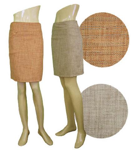 膝丈ミニスカートw242205【S】7号 小さい服