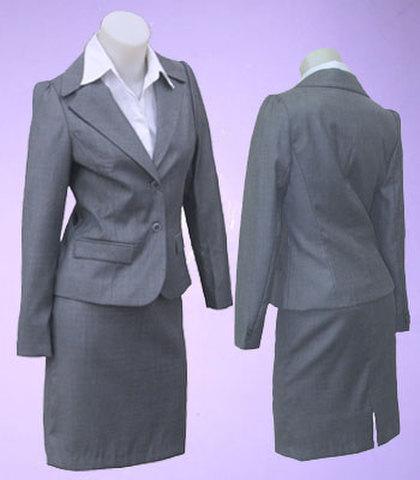 二つボタンパフ袖スーツw271893【XS】5号