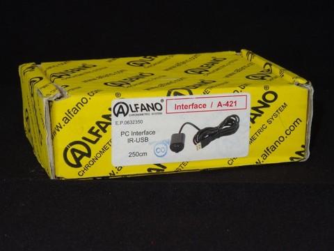 【SALE】アルファノ AStrO LV用 IR-USB PCダウンロードケーブル 250cm