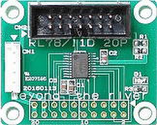 RL78_1176 CPUボード
