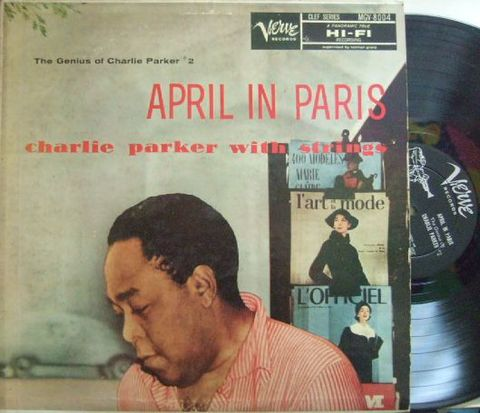 【米Verve mono】Charlie Parker/April In Paris