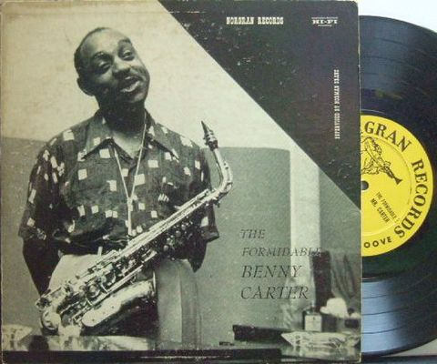 【米Norgran 10'' mono】Benny Carter/The Formidable (Oscar Peterson, Barney Kessel, Ray Brown, etc)