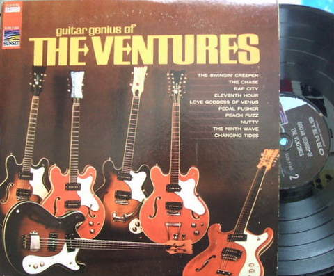 【米Sunset】The Ventures/Guitar Genius