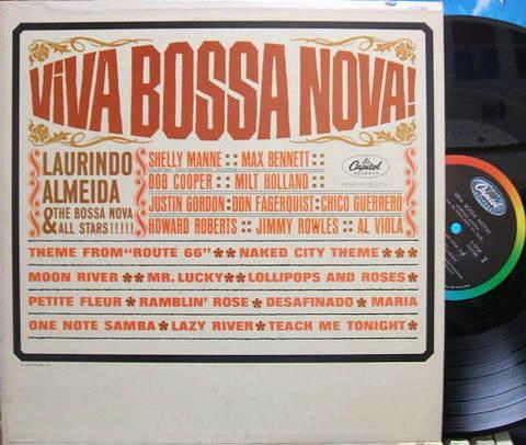 【米Capitol mono】Laurindo Almeida/Viva Bossa Nova!