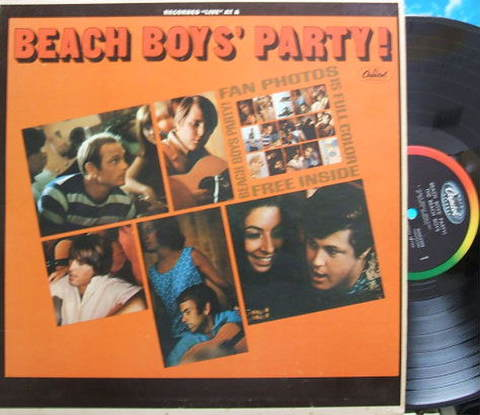 【米Capitol mono】Beach Boys/Party!