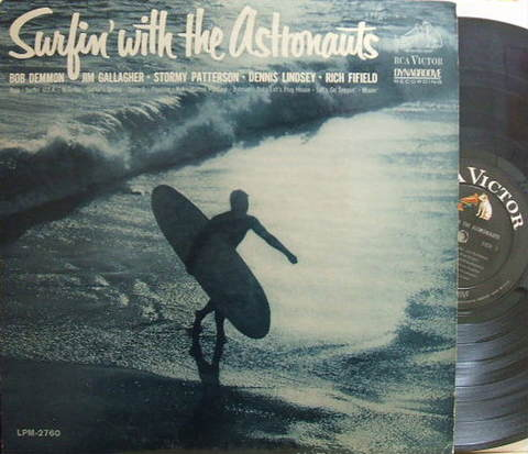【米RCA Victor mono】The Astronauts/Surfin' with The Astronauts