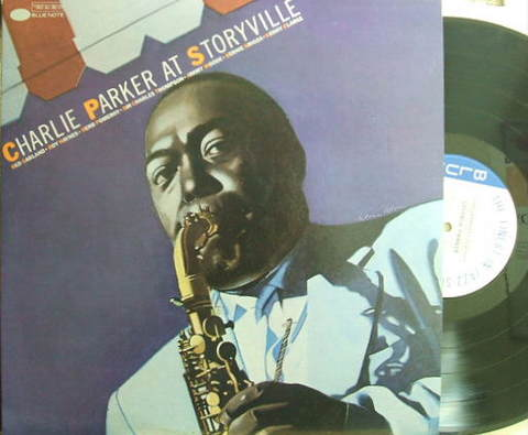 【米Blue Note mono】Charlie Parker/At Storyville (Red Garland, etc)