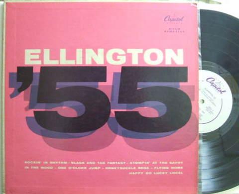 【米Capitol mono】Duke Ellington/Ellington '55