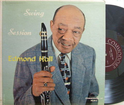 【米Commodore mono】Edmond Hall/Swing Session (Teddy Wilson, etc)