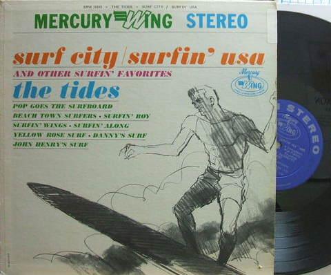 【米Mercury/Wing】The Tides/Surf City, Surfin' USA and other surfin' Favorites