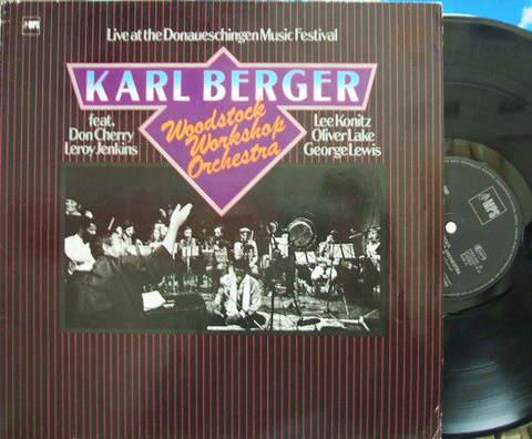 【独MPS】Karl Berger/Woodstock Workshop Orchestra