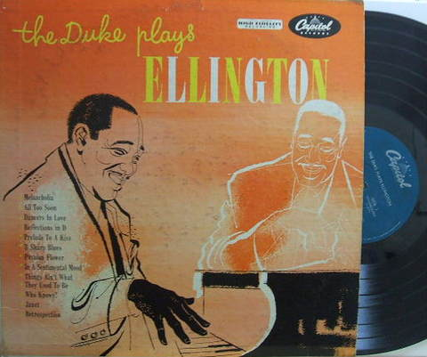 【米Capitol mono】Duke Ellington/The Duke plays Ellington