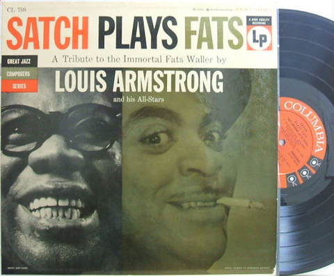 【米Columbia mono】Louis Armstrong/Satch Plays Fats