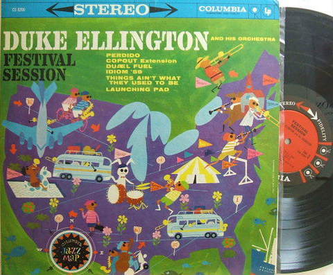 【米Columbia盤】Duke Ellington/Festival Session (Johnny Hodges, Jimmy Hamilton, etc)