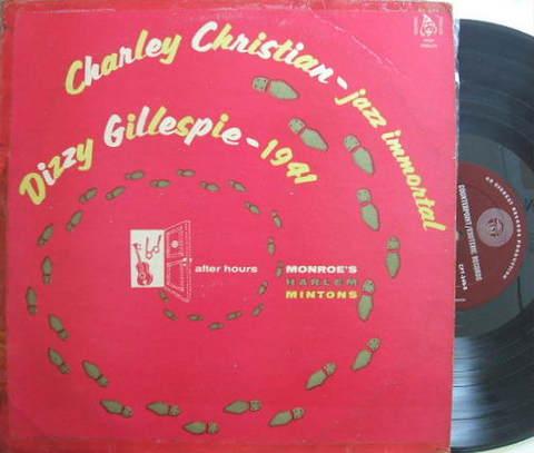【米Esoteric mono】Charley Christian/Jazz Immortal (Gillespie, Monk, etc)