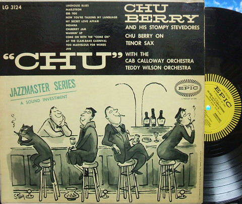 【米Epic mono】Chu Berry/Chu (Teddy Wilson, Roy Eldridge, Dizzy Gillespie, etc)