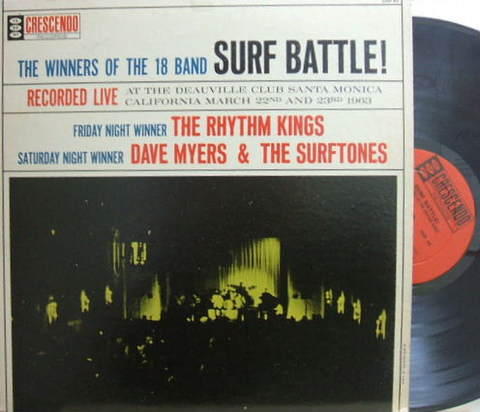 【米Crescendo mono】The Rhythm Kings, Dave Myers & The Surftones/Surf Battle!