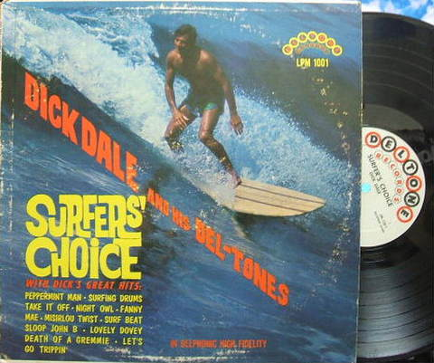 【米Deltone mono】Dick Dale/Surfer's Choice