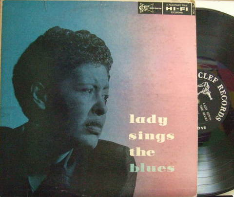 【米Clef mono】Billie Holiday/Lady Sings The Blues (Barney Kessel, Wynton Kelly, etc)