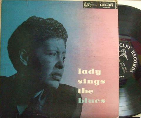 【米Clef mono】Billie Holiday/Lady Sings The Blues (Barney Kessel, Wynton Kelly, etc)