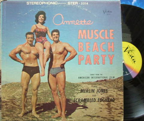 【米Buena Vista】Annette/Muscle Beach Party
