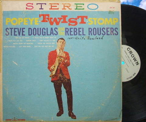【米Crown】Steve Douglas/Popeye Twist Stomp